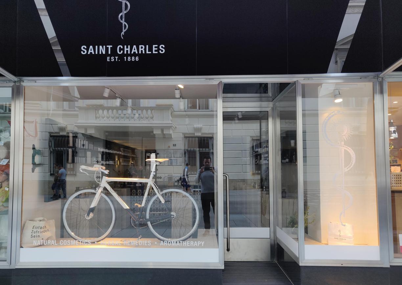 Saint Charles City Store Wien Herrengasse Aussenansicht