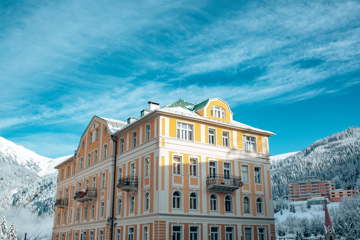 Boutiquehotel Selina Bad Gastein Aussenansicht