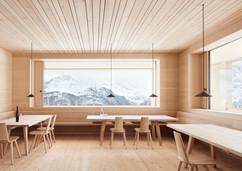 Skihütte Der Wolf Lech am Arlberg Innenansicht