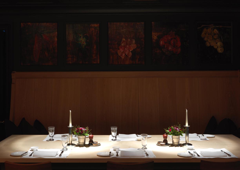 Restaurant Wunderkammer Almhof Schneider Hotel Lech