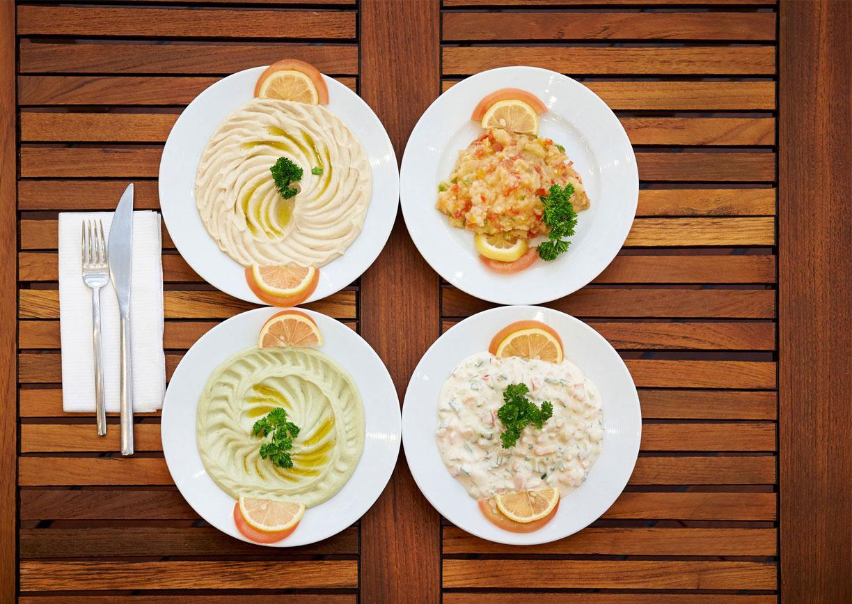 Yalla Restaurant Grand Hotel Wien Essen