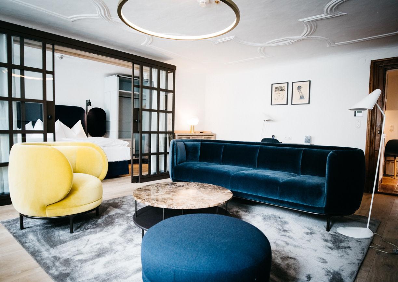 Art Hotel Blaue Gans Salzburg Innenansicht Zimmer City Flat