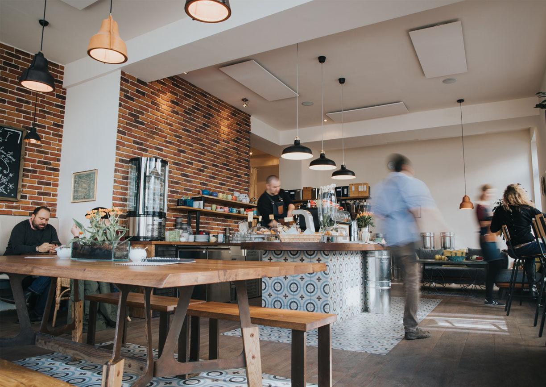 Cafebrennerei Franze Wien Innenansicht
