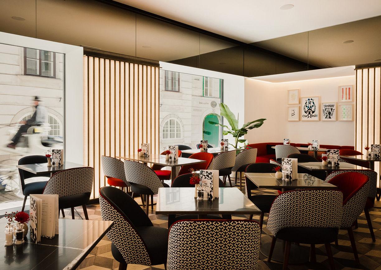 Campari Bar Wien Innenstadt Lokal Restaurant Innenansicht
