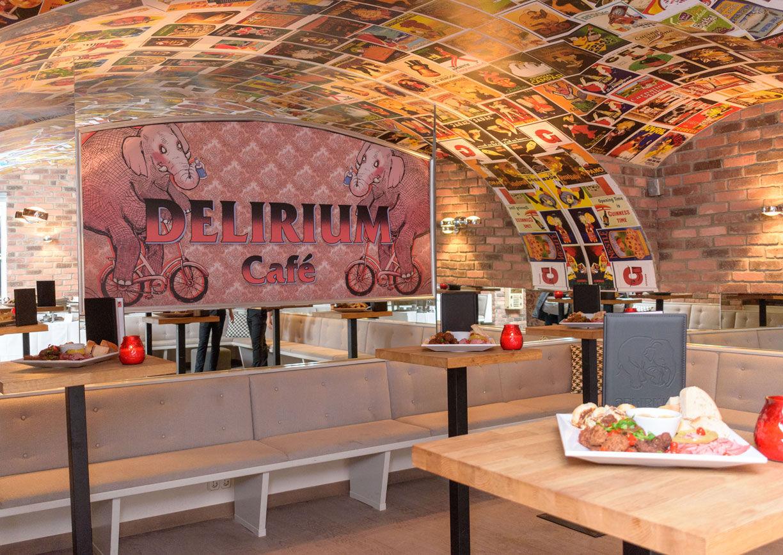 Delirium Café Vienna Innenansicht Bar