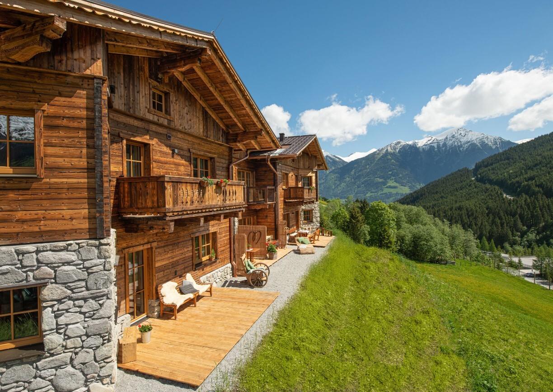 Herzwies Bad Hofgastein Salzburg Alm Suiten Apartments Aussenansicht