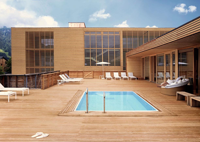 Hotel Post Bezau Vorarlberg Pool