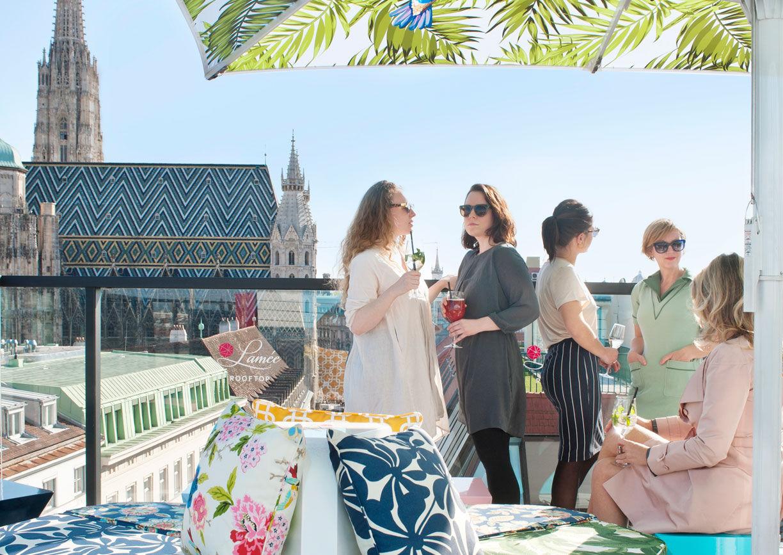 Hotel Lamée Rooftop Bar Wien