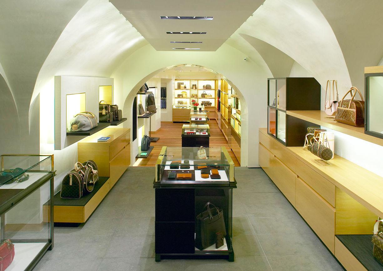 Louis Vuitton Shop Kitzbühel Aussenansicht
