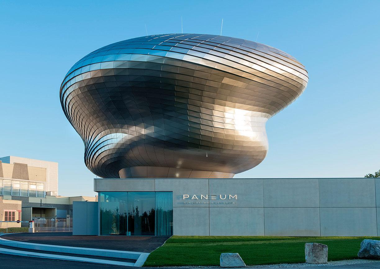 Paneum Museum Architektur Asten Linz Aussenansicht