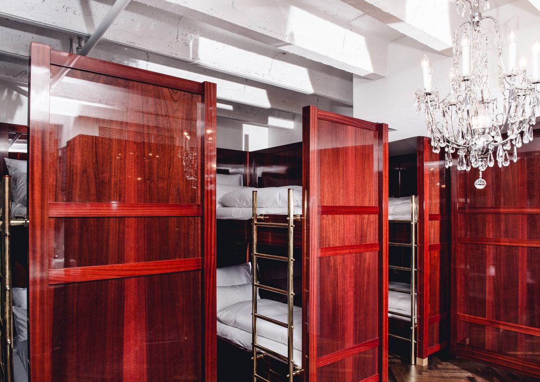 Außergewöhnliche Hotelzimmer Wien Schlafsaal Grand Ferdinand