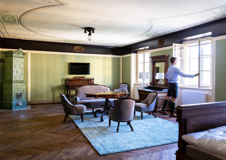 Thalhof Reichenau Rax Apartmenthaus Aussenansicht