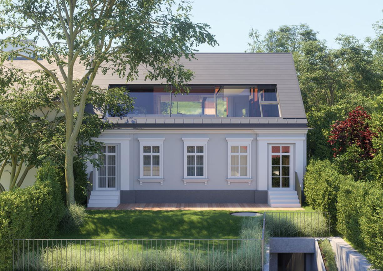 Villa Heinrich Luxus Einfamilienhaus Wien Pötzleinsdorf